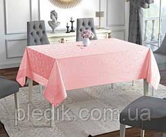 Скатертина 150х220 Jackline Flower Pink рожева 9951-1