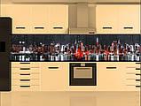Стеклянный фартук для кухни - скинали Ночной Нью-Йорк, парусник, фото 3
