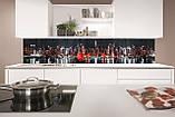 Стеклянный фартук для кухни - скинали Ночной Нью-Йорк, парусник, фото 2