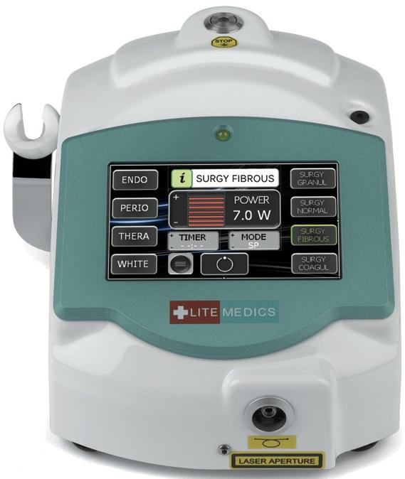 Діодний Лазер стоматологічний LITEMEDICS PRIME (Італія)