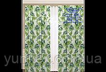 Комплект штор 2 шт из натуральной хлопковой испанской ткани 400319v1 с доставкой