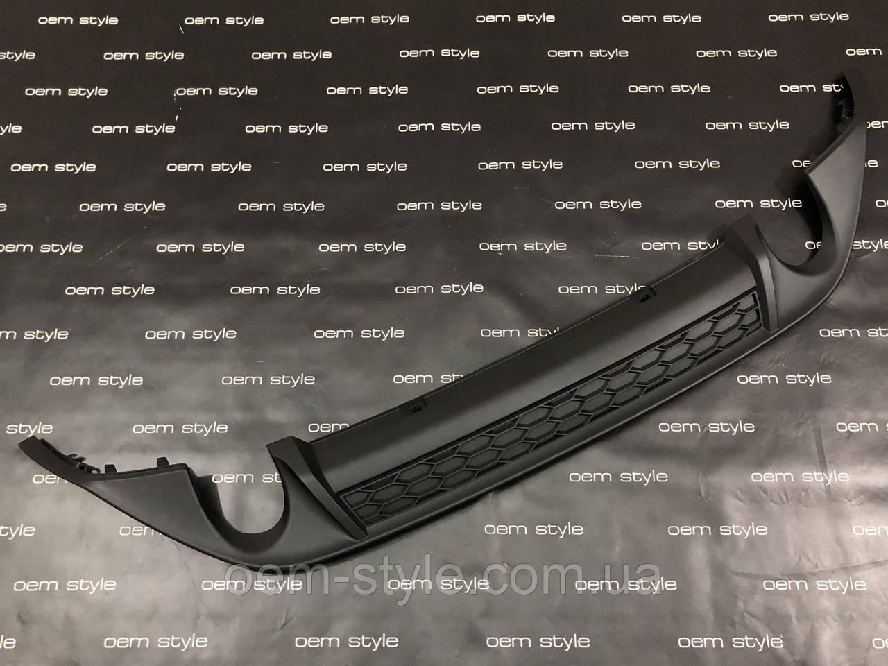 Диффузор заднего бампера для Volkswagen Golf 7 GTI 2012-2017
