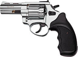 """Револьвер флобера STALKER 3"""" 4 мм никель, пластик черный"""