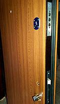 Входная дверь двустворчатая  Т1 дуб золотой, фото 3