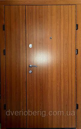 Входная дверь двустворчатая  Т1 дуб золотой, фото 2