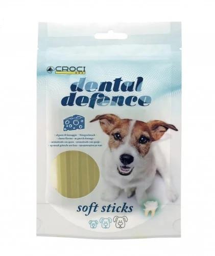Лакомства для собак для чистки зубов со вкусом сыра CROCI DENTAL   80 г