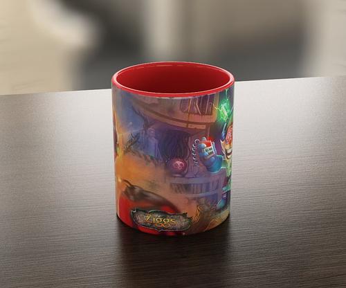 Кружка чашка Ziggs  League of Legends