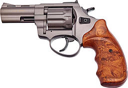 "Револьвер флобера STALKER 3"" 4 мм под титан, пластик коричневый"