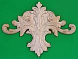 Код ДЦ3. Резной деревянный декор для мебели. Декор центральный, фото 5