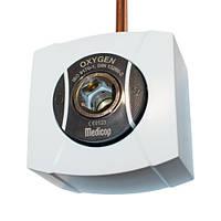 Розетка для кисню (DIN 13260-2) з 10мм трубкою та настінною коробкою
