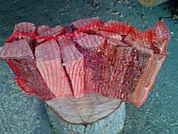 Дрова колотые в сетках