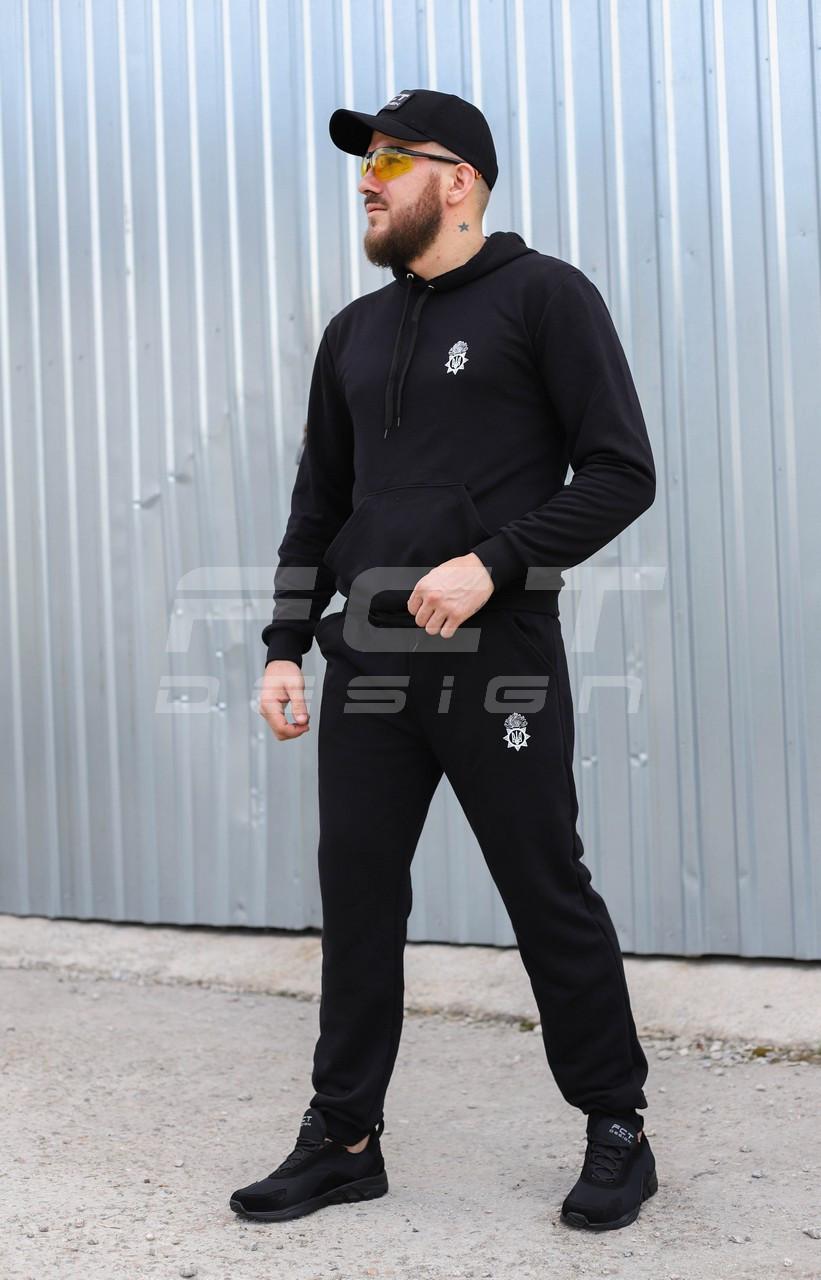 Спортивный костюм НГУ черный