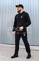 Спортивный костюм НГУ черный, фото 1