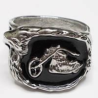 """Мужское кольцо """"Мотоцикл"""", размеры 19, 20, 21. Материал: цинковый сплав."""