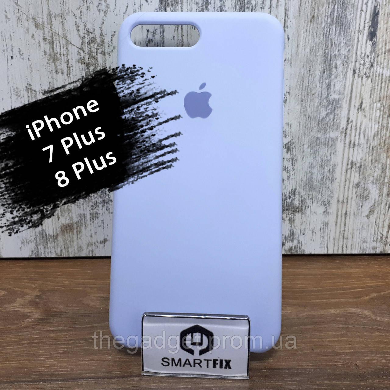 Силиконовый чехол для iPhone 7 Plus / iPhone 8 Plus Soft Голубой