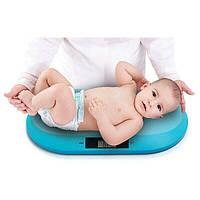 Детские электронные весы до 20 кг Babyono (blue/ синий), Польша