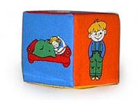 "Кубик- погремушка ""Дети"",ТМ""Розумна Іграшка"""