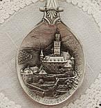 Коллекционная оловянная ложка 1993 год, ANNO DOMINI, олово, Германия, фото 3