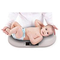 Детские электронные весы до 20 кг Babyono (Gray/серый), Польша
