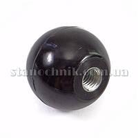 Ручка-шар 25 мм М6х12 карболит (0159)