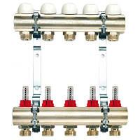 """Коллекторная система 1""""(В-В) х 10*3/4х18 с расходомерами, TIEMME (Италия)"""