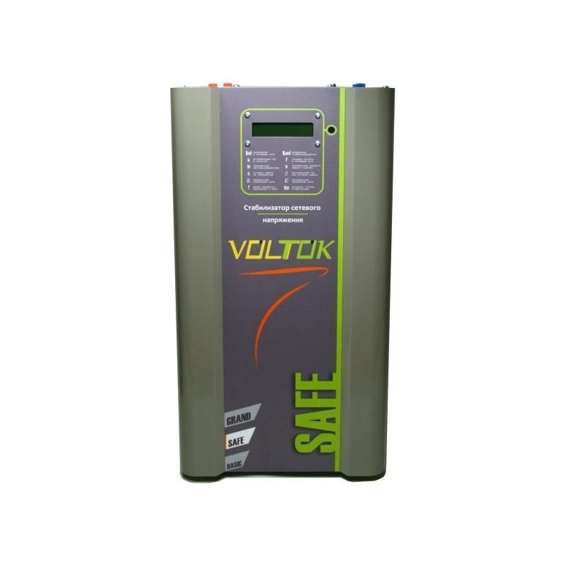 Стабилизатор напряжения Voltok Safe SRK12-18000 - для дома, дачи, квартиры, промышленности