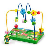 Деревянный лабиринт Viga Toys Ферма (59664)