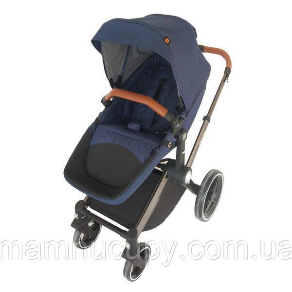 Дитяча коляска-трансформер 2 в 1 Welldon 2 в 1 (синій) WD007-3