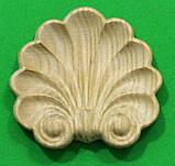 Код ДЦ13. Резной деревянный декор для мебели. Декор центральный, фото 6