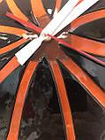 Часы стеклянные настенные фьюзинг, фото 2