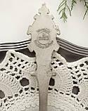 Коллекционная оловянная ложка 1994 год, ANNO DOMINI, олово, Германия, фото 2