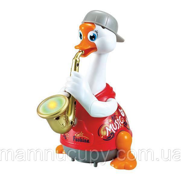 Іграшка музична Hola Toys Гусак-саксофоніст, червоний (6111-red)