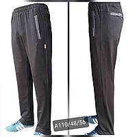 Спортивні штани чоловічі прямі розміри 48-56,темно синього кольору