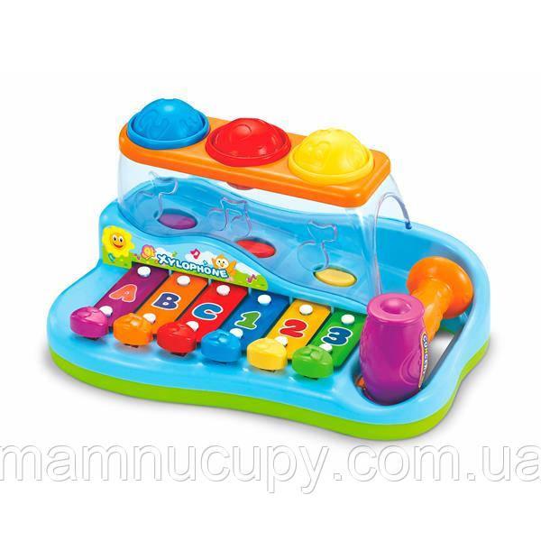 Музыкальная игрушка Hola Toys Ксилофон с шариками (856)