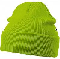 Вязаная шапка с отворотом 7500-7