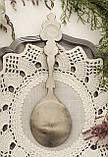 Колекційна олов'яна ложка 1992 рік, Zinn Becher, олово, Бедніы художник, фото 3