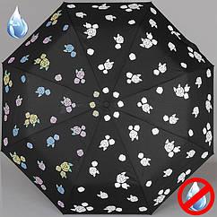 Зонт MAGIC RAIN женский полный автомат 3 сложения 7219