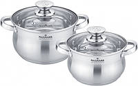 Набір посуду 4 предмети Maxmark MK-BL2504A