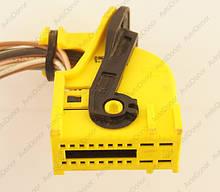 Разъем автомобильный 20-pin/контактный. Мама. 35×18 mm. Б.У