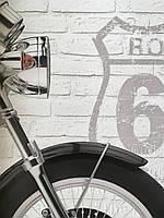 Фактурные обои под кирпич в Лофт интерьер PrintHouse 155 см х 315 см