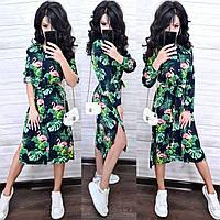 Дуже красиве легке плаття на запах, 42-44 р,, фото 1