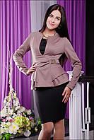Пиджак IR Баска; цвета: бежевый | белый | чёрный | синий,  состав:50% вискоза,40%полиэстер,10%шерсть