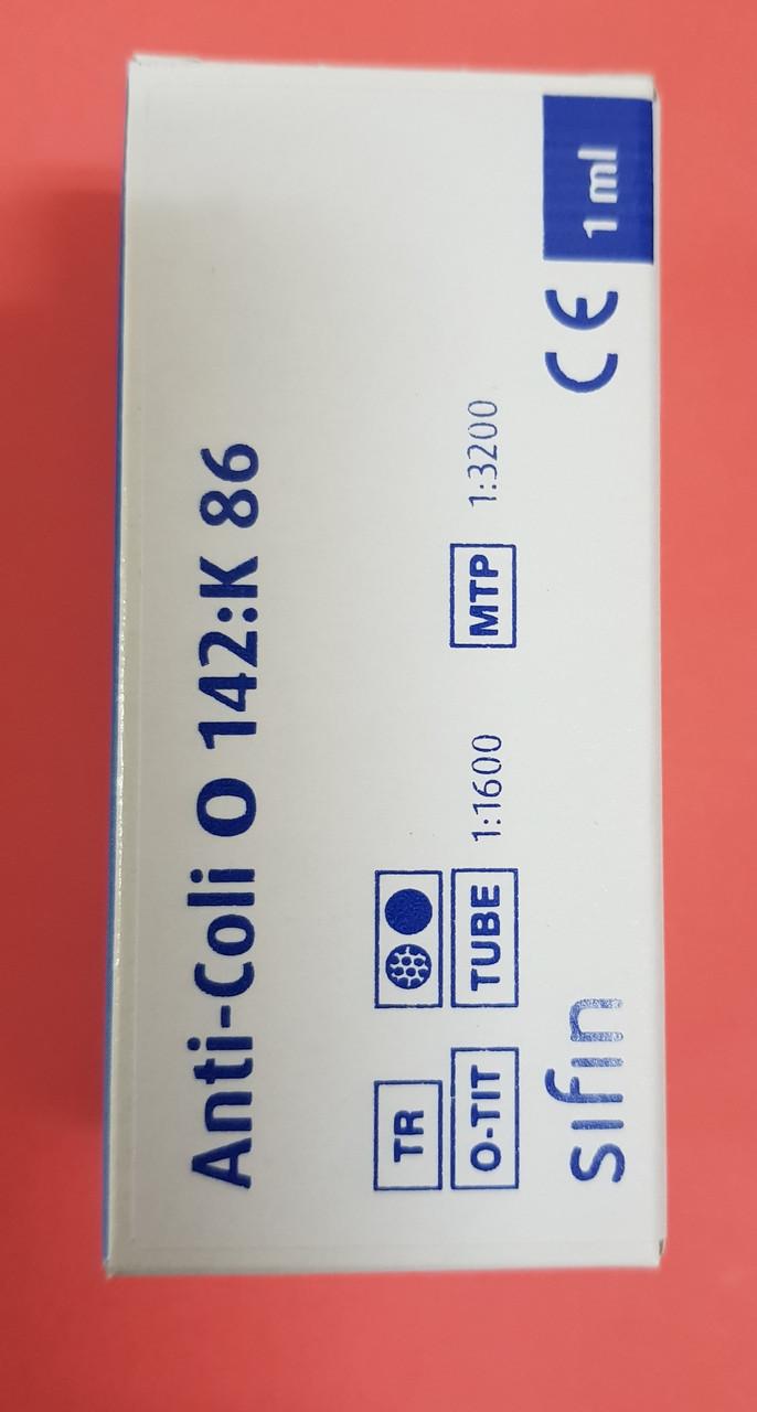 Сыворотка ешерихиозная Anti-Coli O142:K86