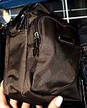 Текстильные маленькие барсетки через плечо на три отделения на молнии 13*16 см, фото 2