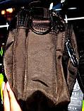 Текстильные маленькие барсетки через плечо на три отделения на молнии 13*16 см, фото 4