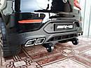 Дитячий електромобіль Джип Mercedes-Benz GLC 63S Coupe, Шкіряне сидіння, Автопокраска, чорний, фото 9
