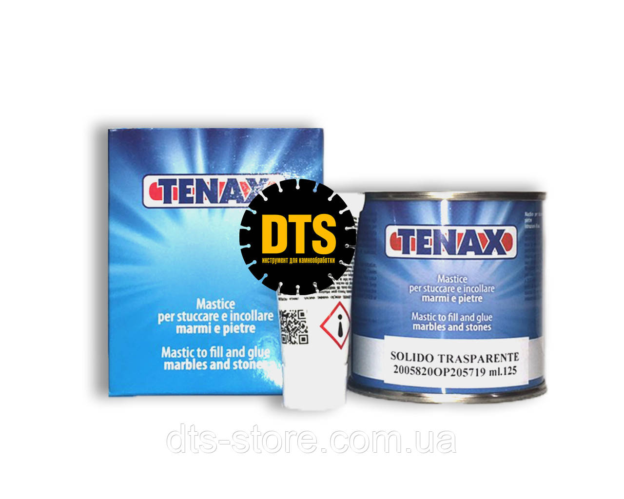 Клей TENAX Solido Trasparente (прозрачно-медовый) 125 мл
