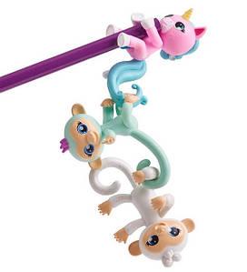 Набор из трех обезьянок мини-коллекционных Fingerlings WowWee