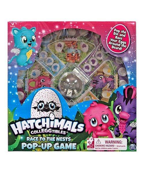 Настольная игра с кнопкой «Hatchimals» Spin Master