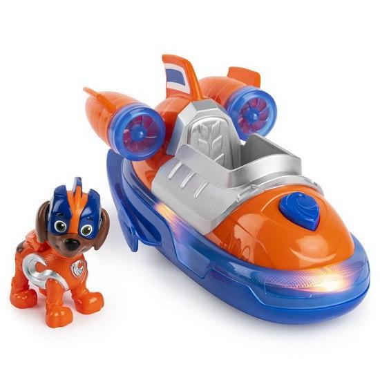 «Щенячий патруль»: Зума со спасательным катером де люкс (серия Мега-щенки) Spin Master
